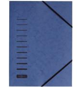 Eckspannmappe 24007 A4 335g blau