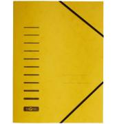 Eckspannmappe 24007 A4 335g gelb