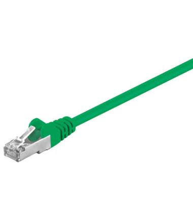 Netzwerkkabel grün RJ-45 Stecker 3m Cat 5e
