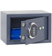 Sicherheitstresor SM1 9,5 l Sicherheitsschloss grau