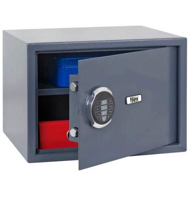 Sicherheitstresor SE3 33,5 l Elektronikschloss grau