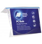 Reinigungsstäbchen PC-Buds für Tastatur/Lüftung 13 cm 25 Stück