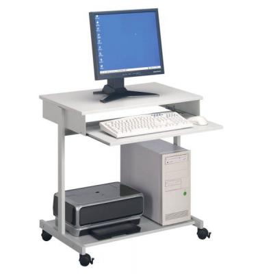 Computertisch 3197-10 grau rechteckig 75x45 cm (BxT)