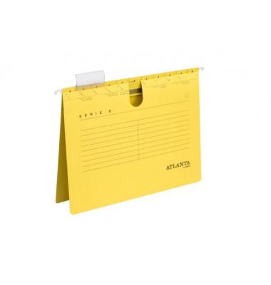 Hängehefter Serie E UniReg A4 230g Karton gelb kaufmännische Heftung