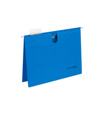 A4 blau kaufmännische Heftung Hängehefter