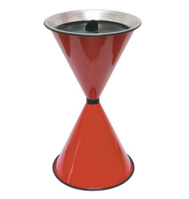 Standaschenbecher rot Durchmesser 40 cm