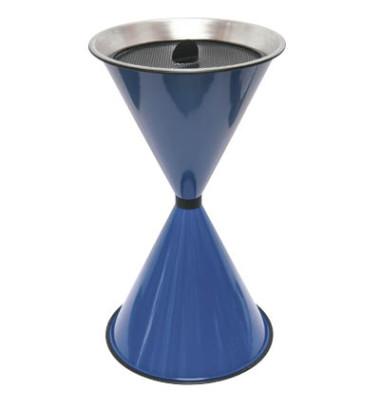 Standaschenbecher blau Durchmesser 40 cm