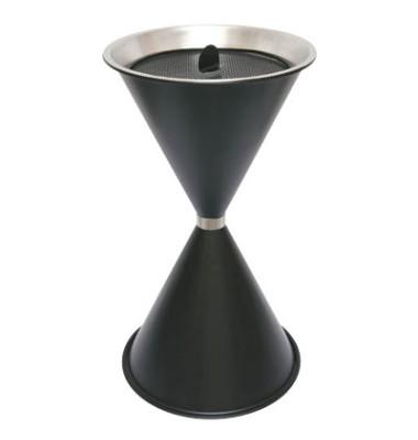 Standaschenbecher schwarz Durchmesser 40 cm