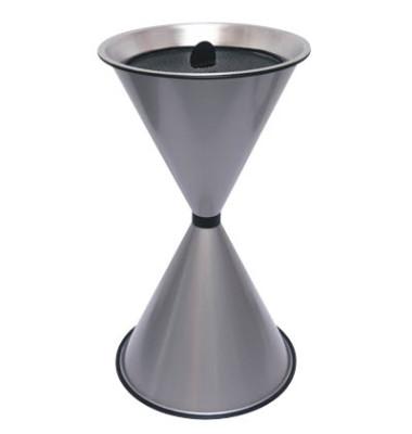 Standaschenbecher silbermetallic Durchmesser 40 cm