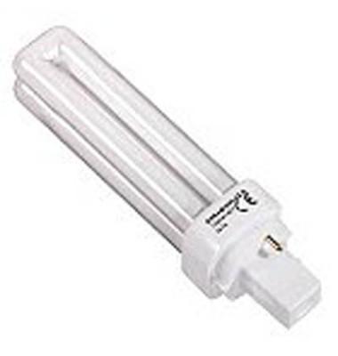 Energiesparlampe DULUX D G24 d-1 13,8 cm lang 13 W