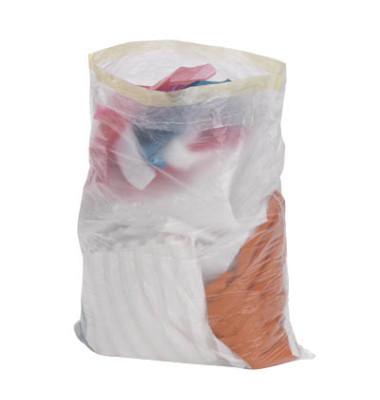 Abfallsäcke mit Zugband transparent 30,0 L 10 my