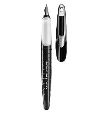 Füller 10999746 my.pen schwarz/weiß Feder M
