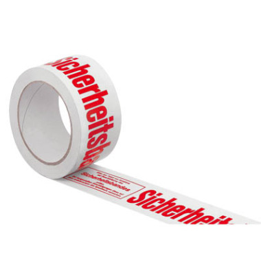 Signal-Packband Sicherheitsband 50mm x 66m rot/weiß PVC