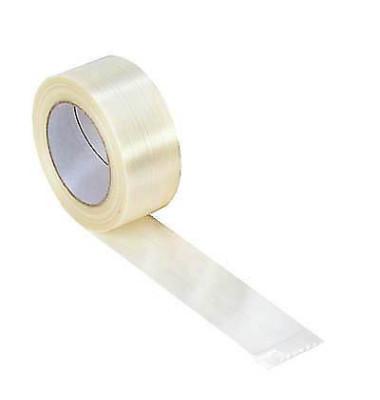 Packband SUPRAFIL 100083, 50mm x 50m, PP, fadenverstärkt, leise abrollbar, weiß