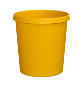 Papierkorb H61058, 18 Liter gelb