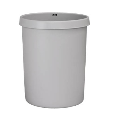 Papierkorb H61061, 30 Liter lichtgrau