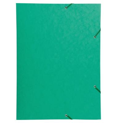 Eckspannmappe 59515E Premium A3 600g grün A3