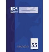 Vokabelheft A4 Lineatur 53 liniert 2 Spalten weiß 32 Blatt