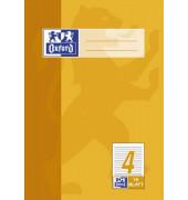 Schulheft A5 Lineatur 4 liniert weiß 16 Blatt