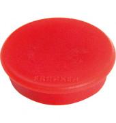 Haftmagnet rund 32mm rot 10St.