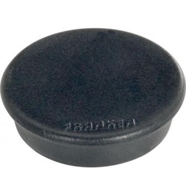 Haftmagnet rund 32mm schwarz 10 Stück