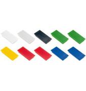 Haftmagnet 23x50mm farbig sort 10St