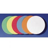 Moderationskarten Kreise Ø 9,5cm selbstklebend farbig sortiert 300 Stück