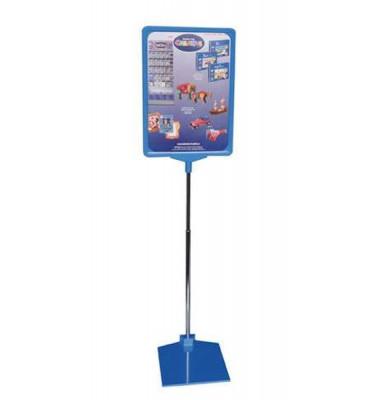Preisständer A4 ausziehbar 32-62 cm blau