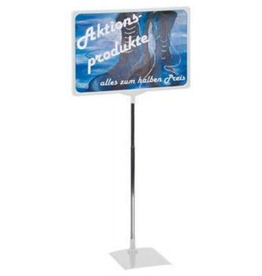 Preisständer A3 ausziehbar 32-62 cm grau