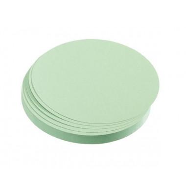 Moderationskarten Kreise Ø 19,5cm hellgrün 500 Stück