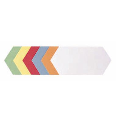 Mod.Karten Rhombus 20x9,5cm 500St sort