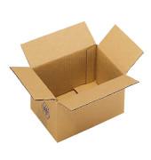 Faltkartons 11 x 16 x 11,7cm  braun 20 Stück Wellpappe