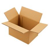 Faltkartons 21 x 15 x 13,7cm braun 20 Stück Wellpappe