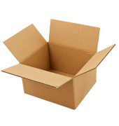 Faltkartons 22 x 19 x 13,7cm braun 20 Stück Wellpappe