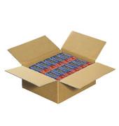 Faltkartons 27 x 23 x 11,7cm braun 20 Stück Wellpappe
