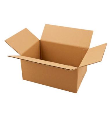 Faltkartons 31,5 x 22,5 x 15,7cm braun 20 Stück Wellpappe