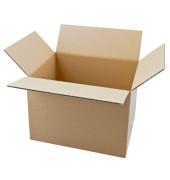 Faltkartons 31,5 x 22,5 x 23,7cm braun 20 Stück Wellpappe