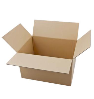 Faltkartons 44,3 x 32,3 x 27,8cm braun 20 Stück Wellpappe