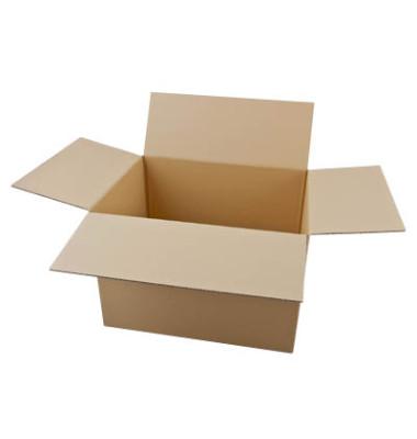 Faltkartons 46,3 x 36,3 x 32,8cm braun 20 Stück Wellpappe