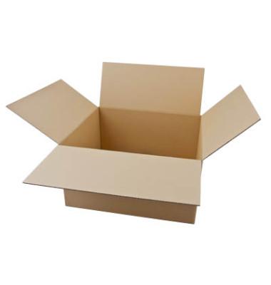 Faltkartons 49 x 43 x 26,7cm braun 20 Stück Wellpappe