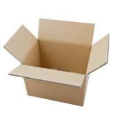Faltkartons 33,8 x 24,8 x 25,3cm braun 20 Stück Wellpappe