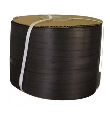 Umreifungsband sw 12,7 x 0,5mm Kle