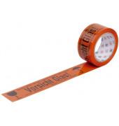 Signal-Packband WIHE-lux Vorsicht Glas 50mm x 66m orange/schwarz PVC