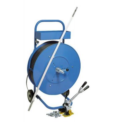 Abrollgerät FG 04 blau f.Umreifungsband