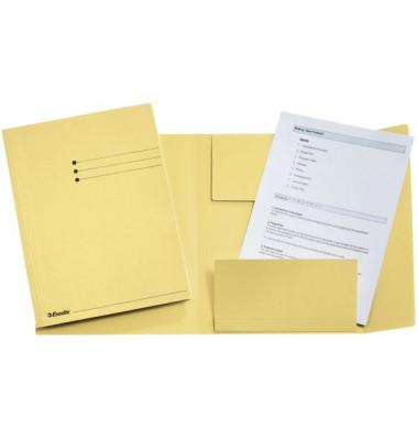 Jurismappe A4 gelb