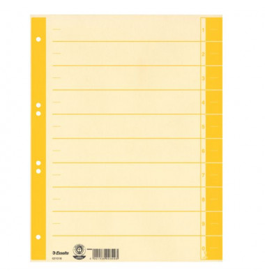 Trennblätter 621018 A4 chamois/gelb 230g 100 Blatt