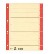 Trennblätter 621019 A4 chamois/rot 230g 100 Blatt