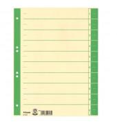 Trennblätter 621022 A4 chamois/grün 230g 100 Blatt
