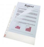 Prospekthüllen Standard Plus A4 transparent genarbt 90my oben und links offen 100 Stück
