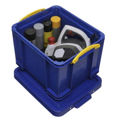 Aufbewahrungsbox blau 35 l 390 x 310 x 480mm